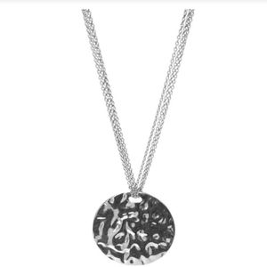 Silverplated Medallion Necklace